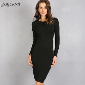 Black slim dress (Sz M - but fit like S)